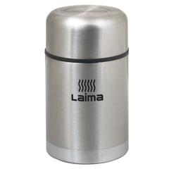 Термос ЛАЙМА универсальный с широким горлом, 0,8 л, нержавеющая сталь