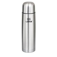 Термос ЛАЙМА классический с узким горлом, 0,5 л, нержавеющая сталь