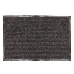 Коврик входной ворсовый влаго-грязезащитный ЛАЙМА/ЛЮБАША, 90х120 см, ребристый, толщина 7 мм, черный