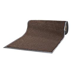 Коврик-дорожка ворсовый влаго-грязезащитный ЛАЙМА, 120х1500 см, толщина 7 мм, коричневый