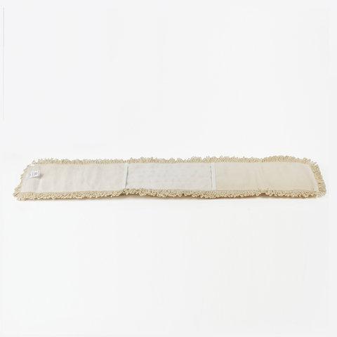 Насадка МОП плоская 60 см для швабры-рамки, К (карманы), нашивной хлопок, ЛАЙМА EXPERT