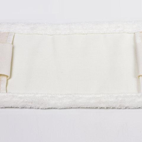 Насадка МОП плоская для швабры/держателя 40 см, У/К (уши/карманы), микрофибра, ЛАЙМА EXPERT