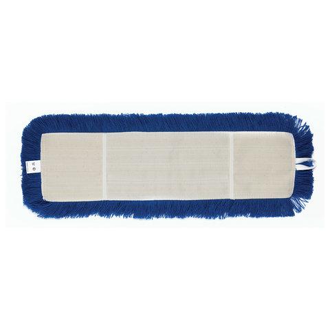 Насадка МОП плоская 60 см для швабры-рамки, К (карманы), сухая уборка, акрил, ЛАЙМА EXPERT